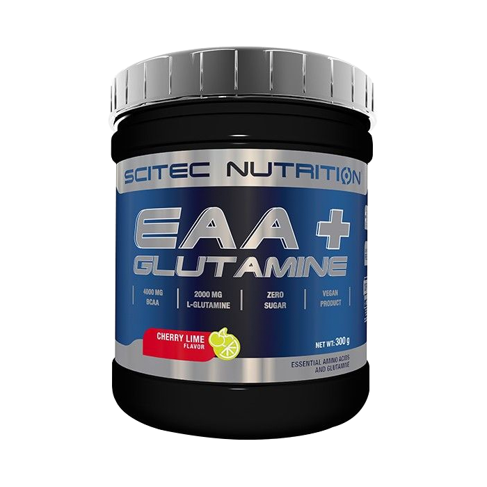 EAA+Glutamine, 300 g cherry-lime