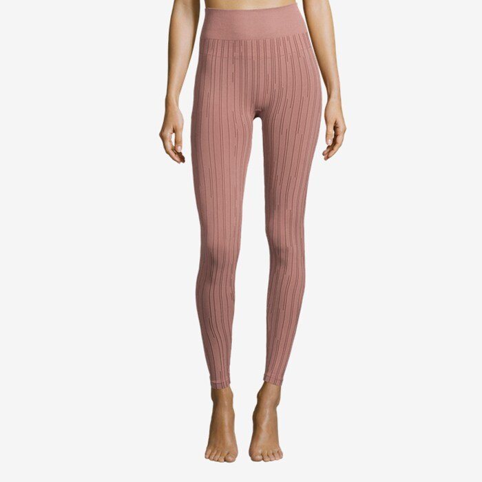 Seamless Line Tights, Trigger Pink