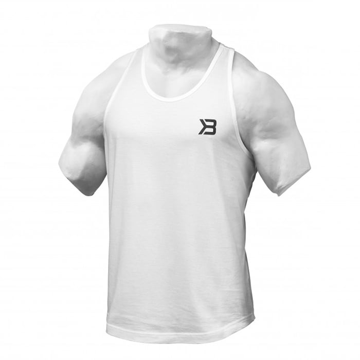 Essential T-back, white