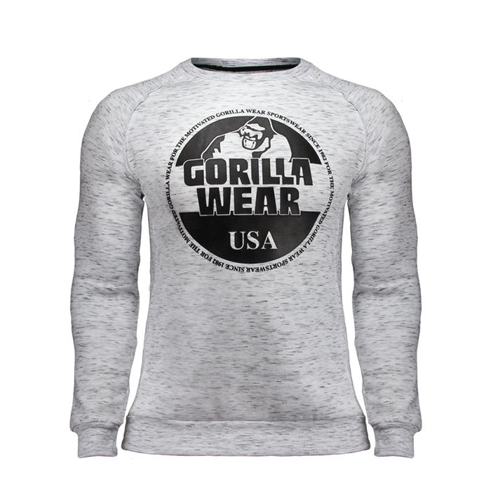 Bloomington Crewneck Sweatshirt, Grey