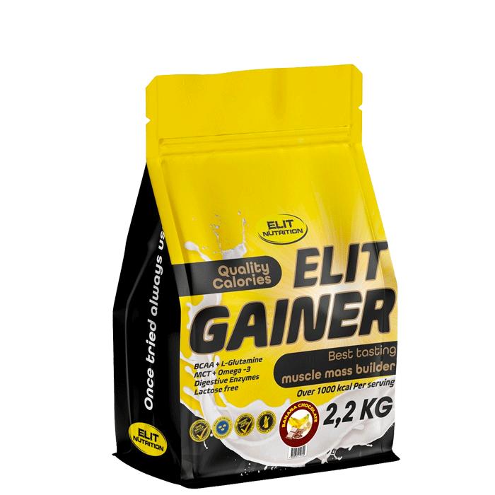 ELIT GAINER - Lactose free, 2200 g