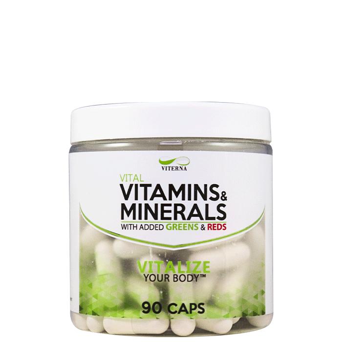 Vitamins & Minerals 90 caps