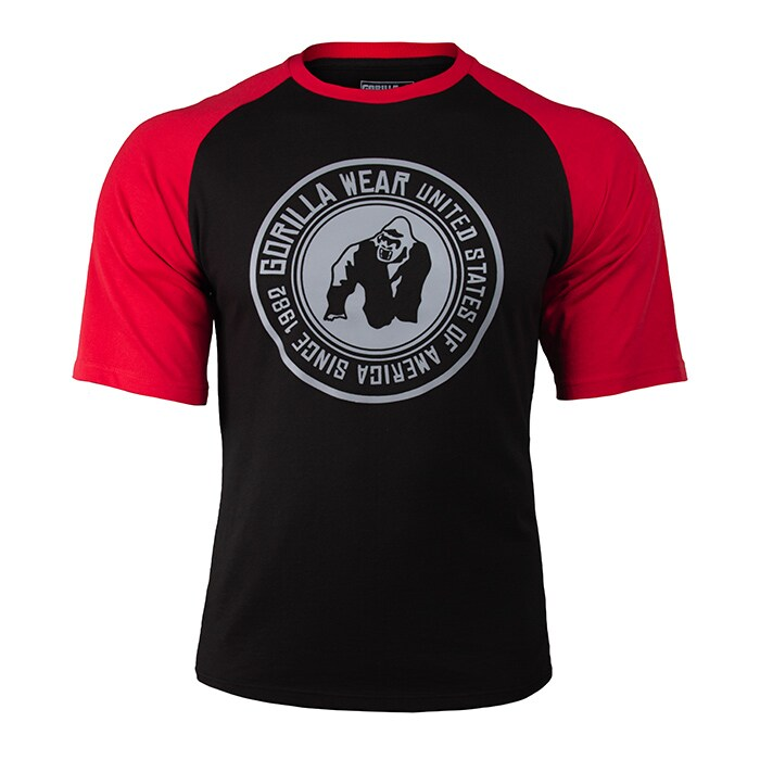 Texas T-shirt, Black/Red