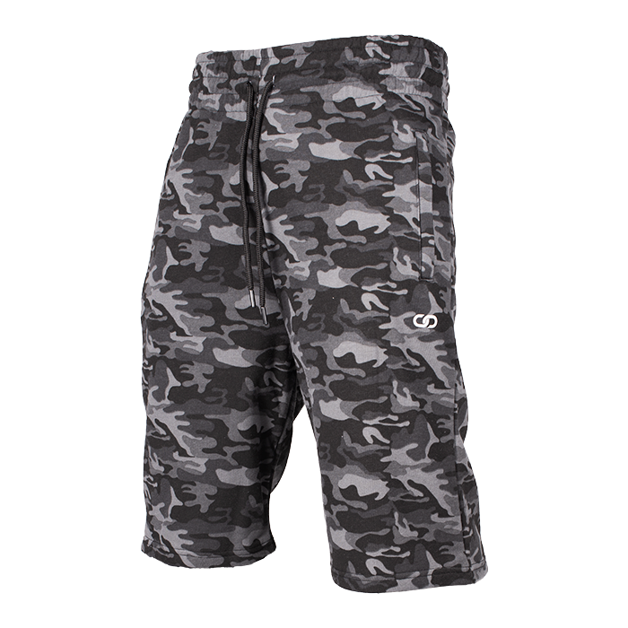 Chained Shorts, Black Camo