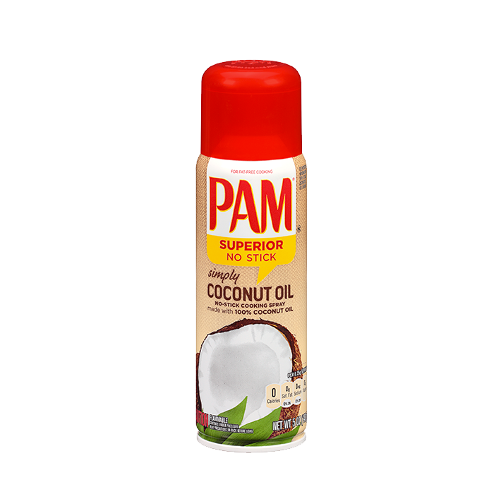 PAM Coconut Cooking Spray, 141 g