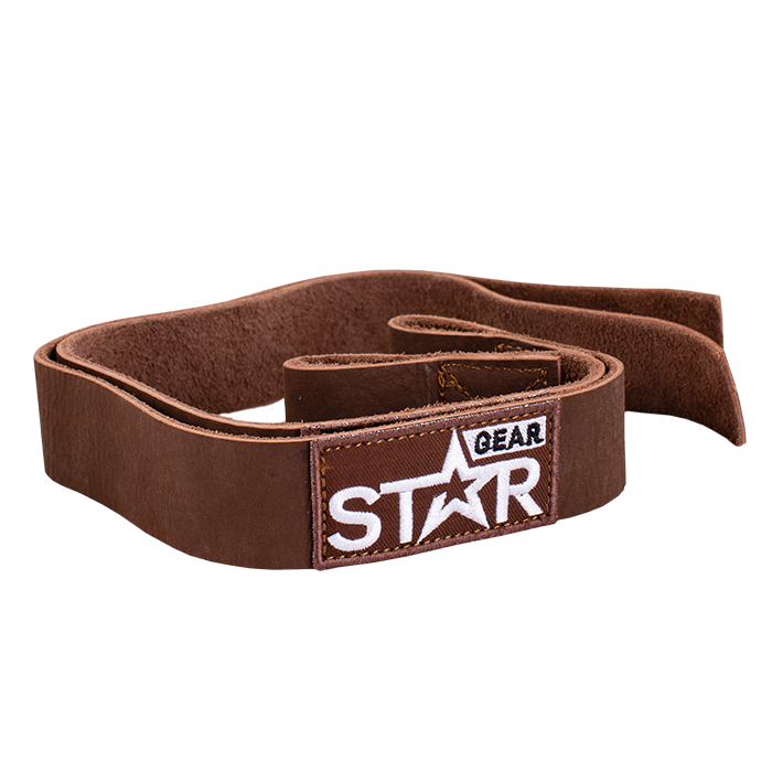 Star Gear Leather Lifting Straps