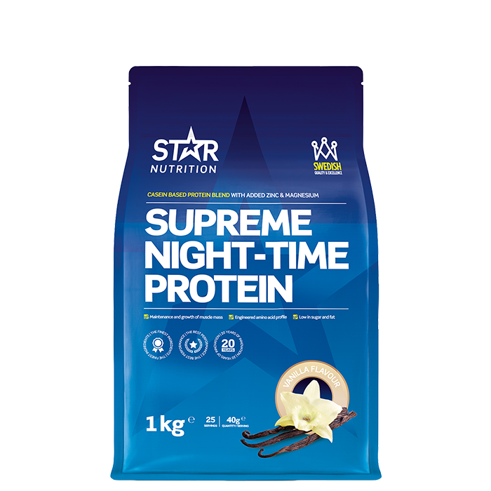 Supreme Night Time Protein 1kg Chocolate