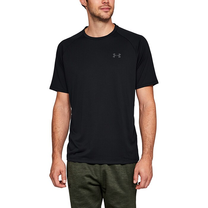 UA Tech SS Tee, Black