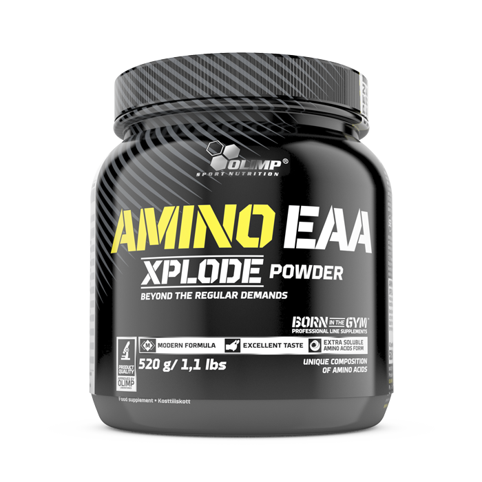 Amino EAA Xplode, 520 g Ice Tea Peach