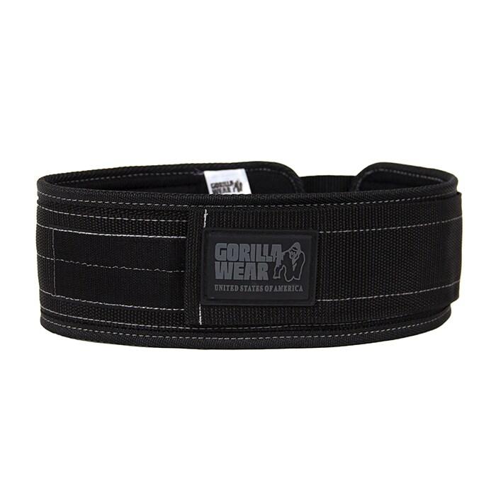4 Inch Nylon Belt, black