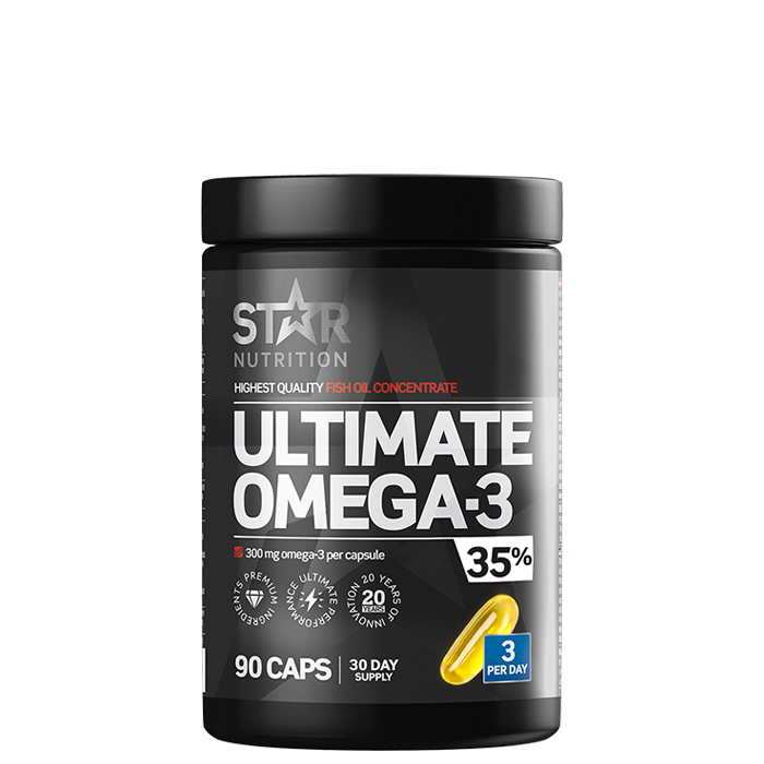 Ultimate Omega-3, 90 caps, 35% 1000mg