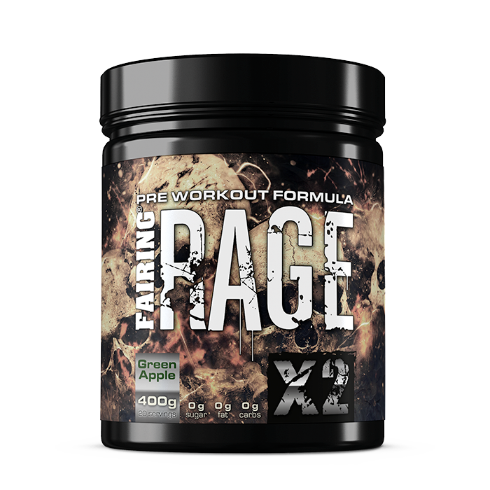 Rage X2, 400 g Green Apple