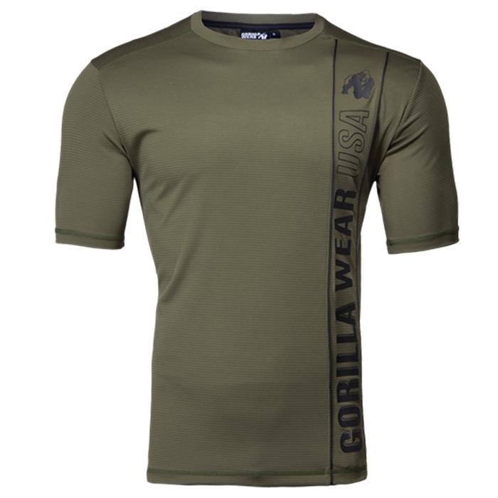Branson T-Shirt, Army Green/Black