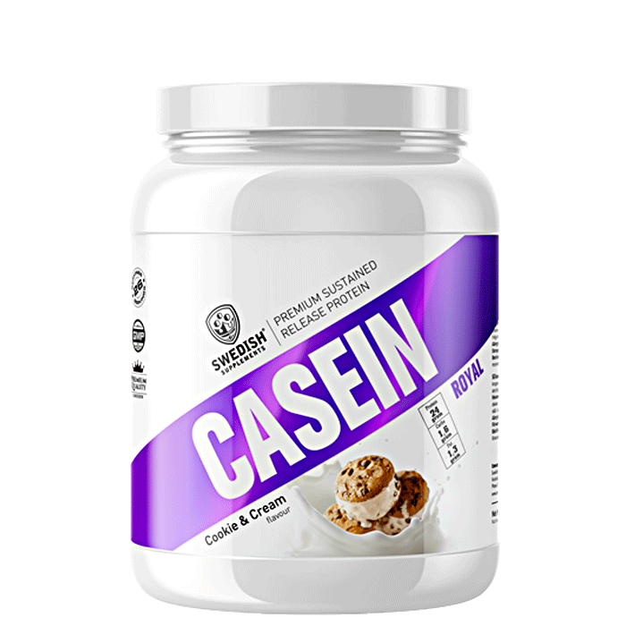 Slow Casein, 900 g Cookies and Cream