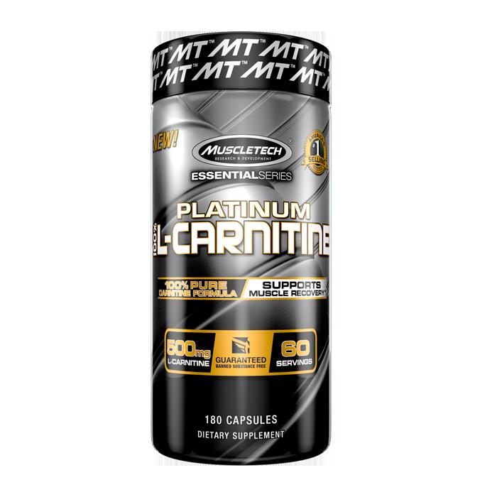 100% Platinum Carnitine, 180 caps