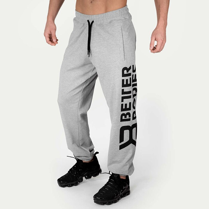 Stanton Sweatpants, Light Grey Melange
