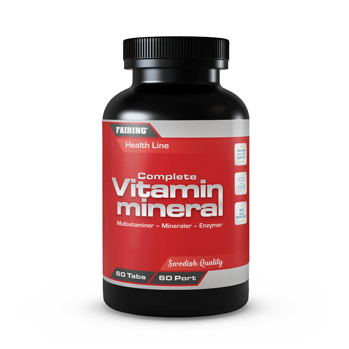 Complete vitamin & mineral, 60 tabletter