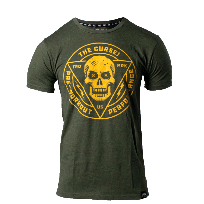 Cobra The Curse, T-Shirt, Green/Yellow - M