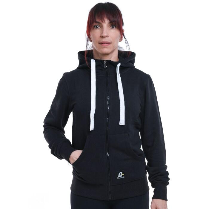 Gymgrossisten Zip Hood, Black