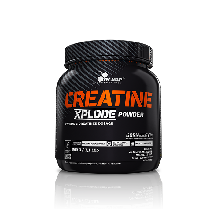 Creatine Xplode, 500 g Orange