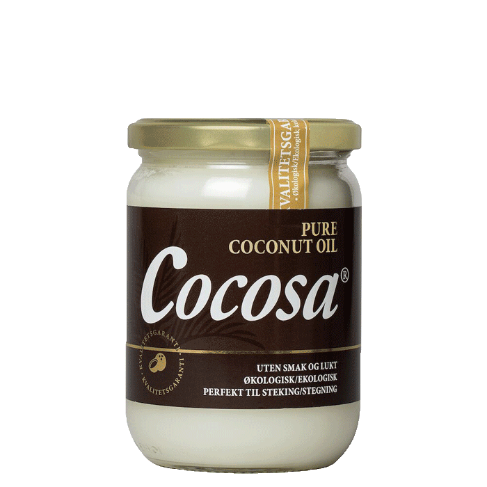 Organic Cocosa Pure Coconut Oil, 500 ml