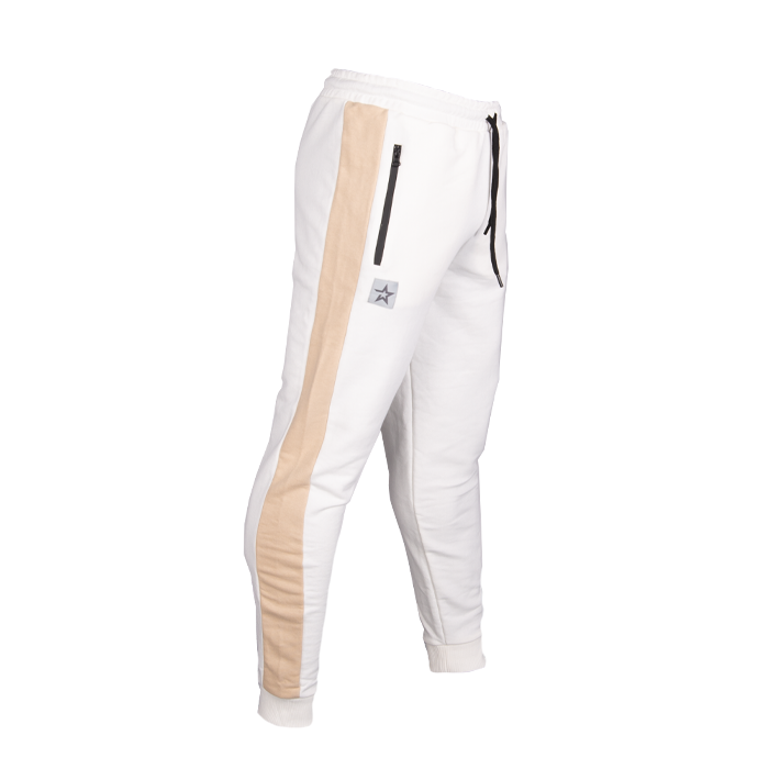 Star Gym Joggers, Off White/Sand