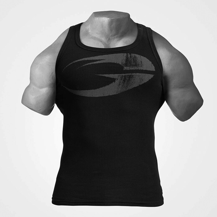 Original Ribbed Tank, Black