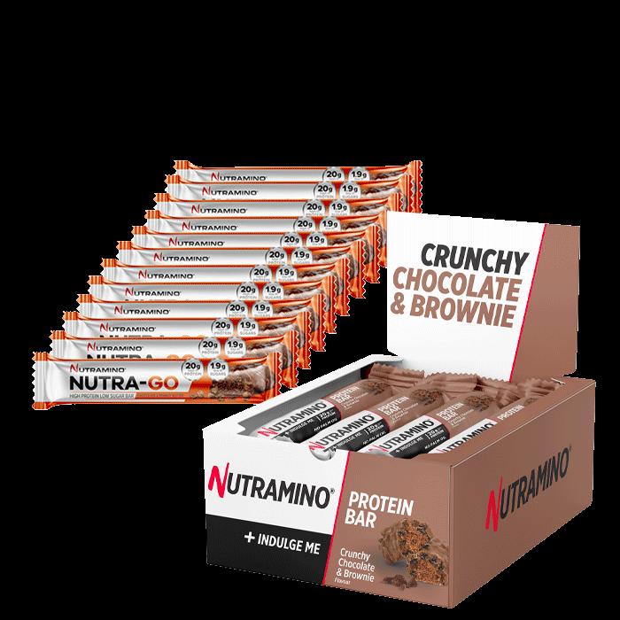 12 x Nutramino ProteinBar + 15 x Nutra Go bars for free