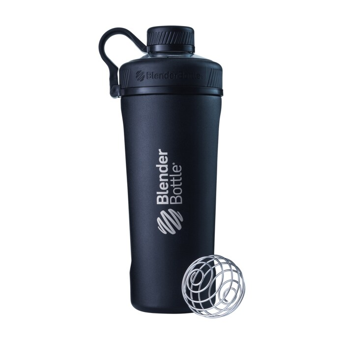 BlenderBottle Radian Insulated Stainless Steel, 770ml, Black