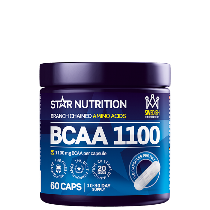 BCAA 1100, 60 caps