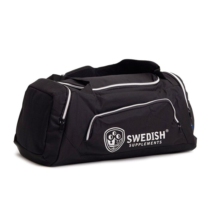 Swedish Supplements Duffelbag, Black