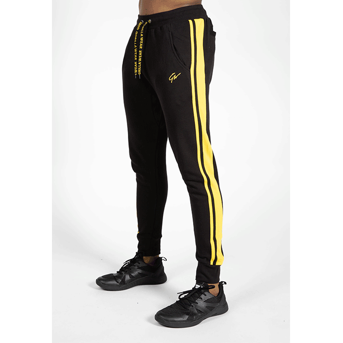 Banks Pants, Black/Yellow