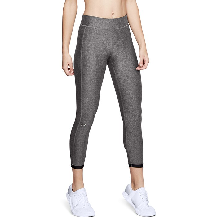 UA HG Armour Ankle Crop, Charcoal Medium Heat