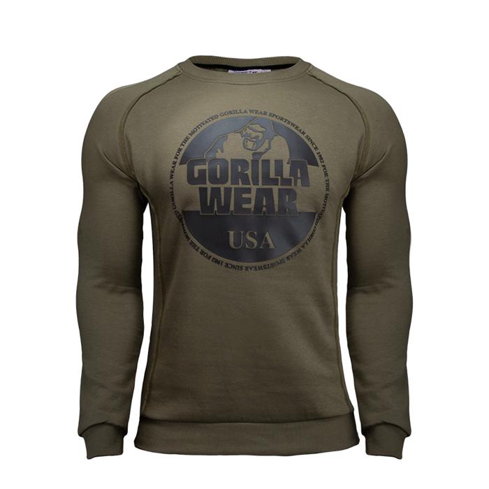 Bloomington Crewneck Sweatshirt, Army Green