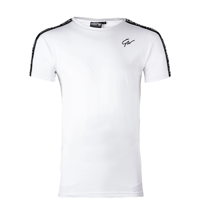 Chester T-Shirt, White/Black