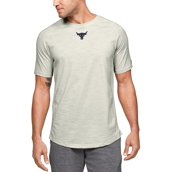 Project Rock Charged Cotton SS, Summit White