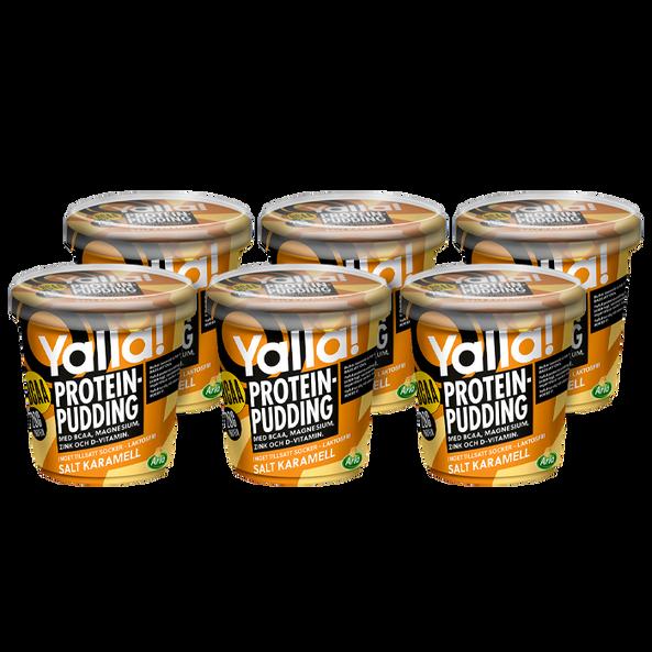 6 x Yalla Proteinpudding BCAA 200g