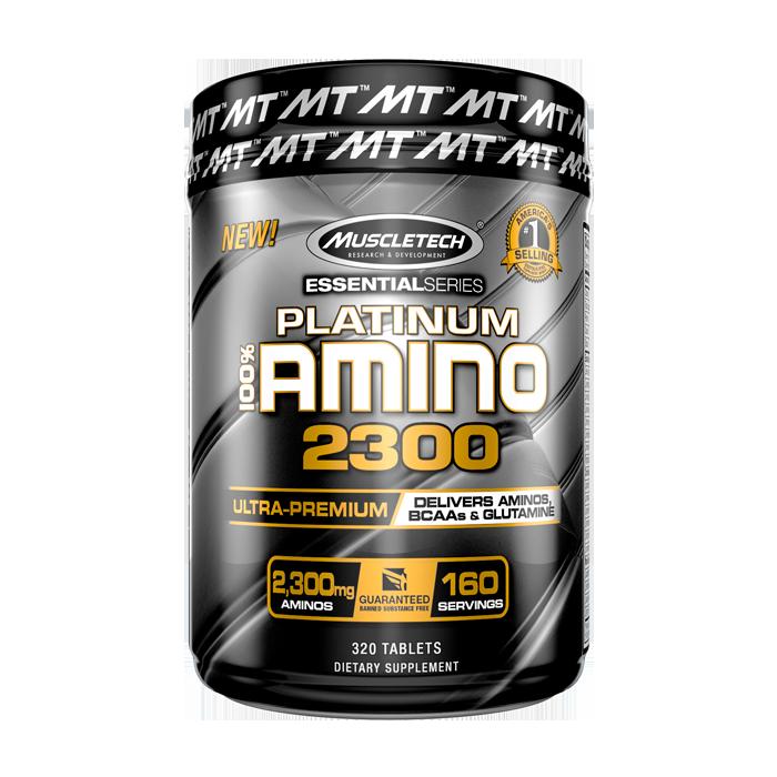 100% Platinum Amino 2300, 320 tabs