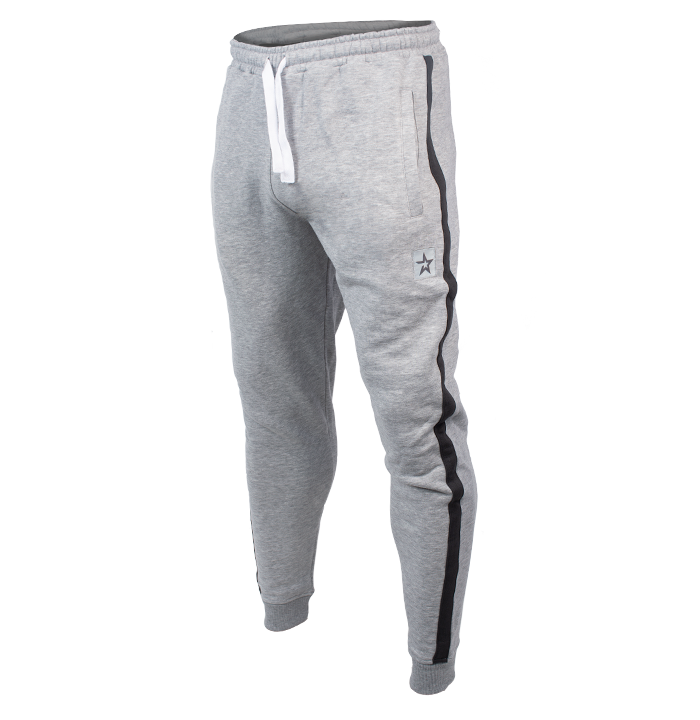 Star Edition Tapered Pants, Grey/Black