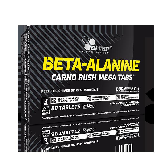 Beta Alanine Carno Rush, 80 Mega Tabs