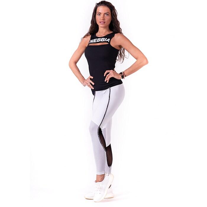 V-Butt Tights, White