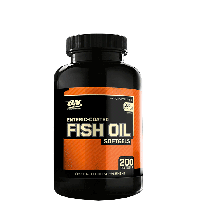 Enteric-Coated Fish Oil, 200 gels
