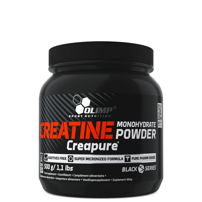 Creatine Monohydrate Powder Creapure, 500 g