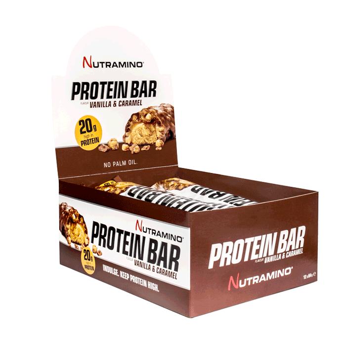 12 x Nutramino ProteinBar Crispy, 60 g