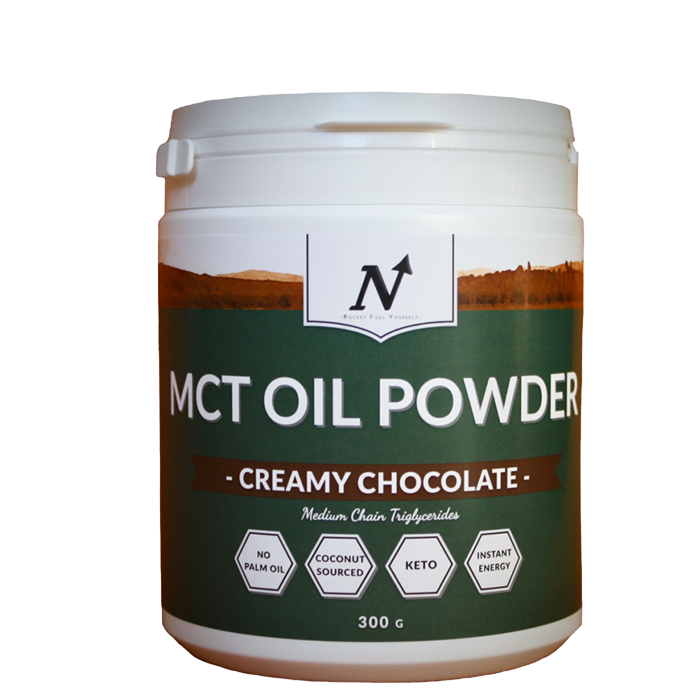 MCT Oil Powder - Creamy Chocolate, 300 g