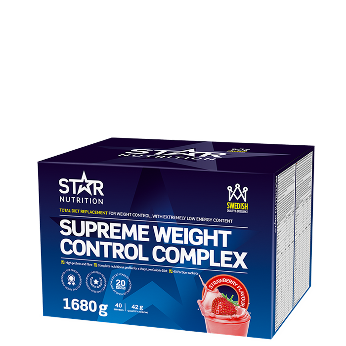Supreme Weight Control Complex, 40 servings Jordgubb