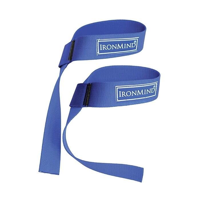 Ironmind Blue Twos lifting straps