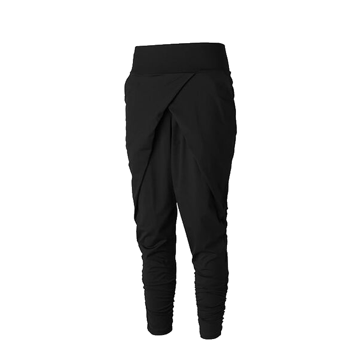 Flow Low Crotch Pant, Black