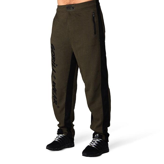 Augustine Old School Pants, Army Green