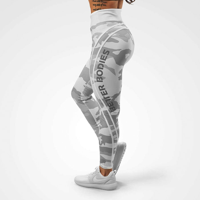 Camo High Tights, White Camo